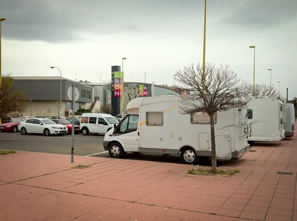 Área de autocaravanas de León
