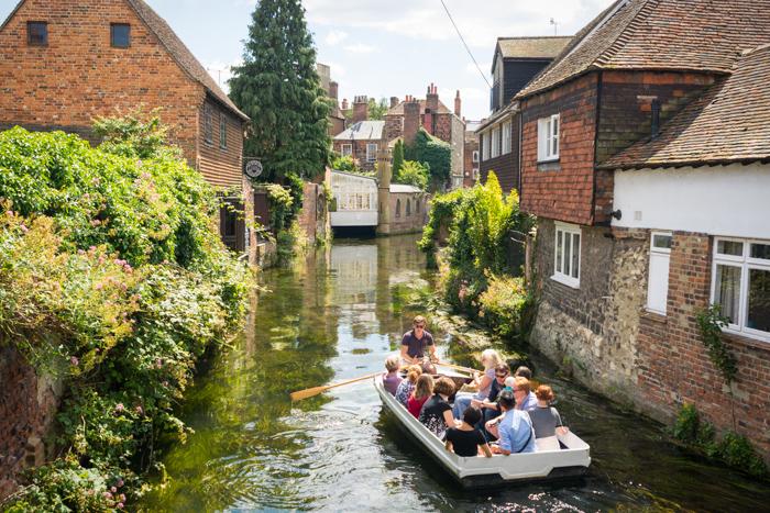 Canales de Canterbury
