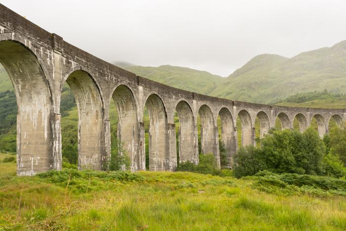 Viaducto de Glenfinnan que sale en la peli de Harry Potter