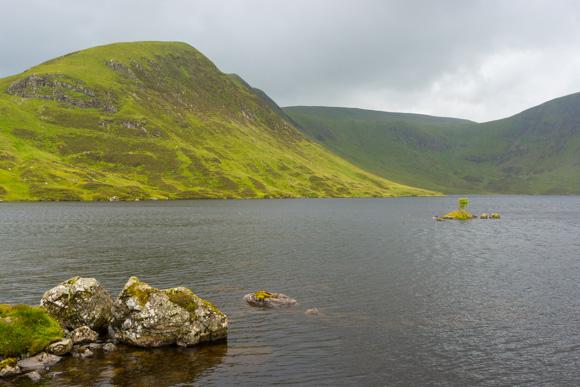 Lago al final de la ruta