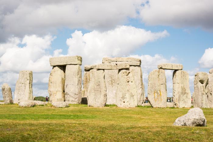 Stonehenge ya desde dentro
