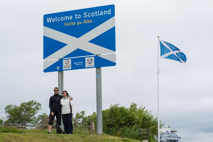 Frontera de Escocia