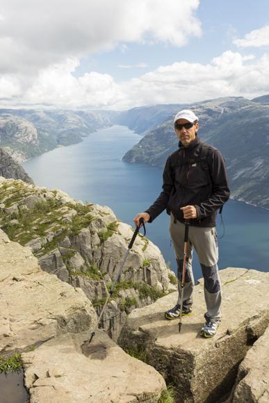 Fiordo Lysefjorden