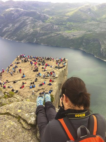 Fiordo Lysefjorden y el Púlpito
