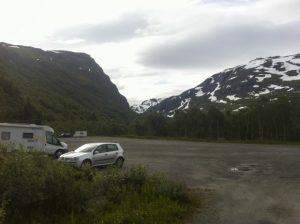 Parking después de Harstad