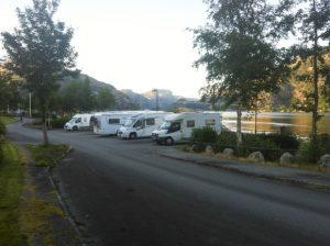 Área de descanso en Oanes