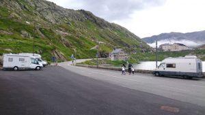 Pernocta en Col du Grand Saint Bernard