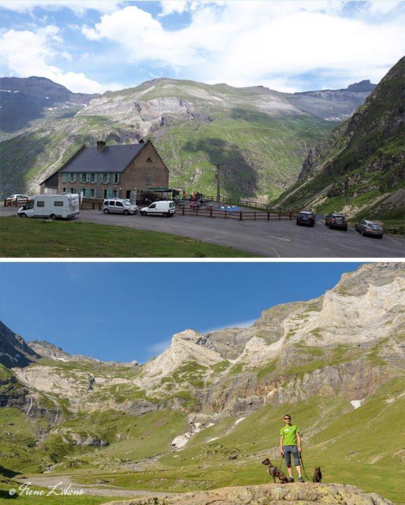 Parking del Plateau du Maillet, alrededores del parking y el refugio