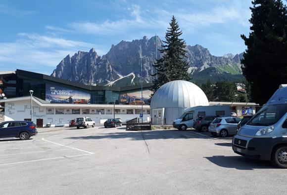 Parking en Cortina d'Ampezzo