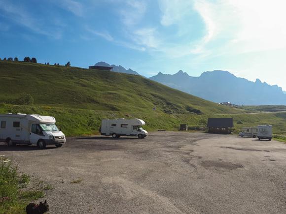 Parking Col de Lautaret
