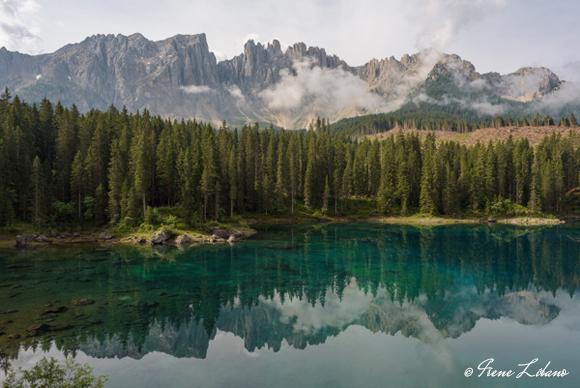 Lago di Carezza en autocaravana
