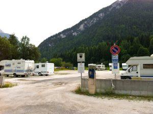 Area parking de Alleghe