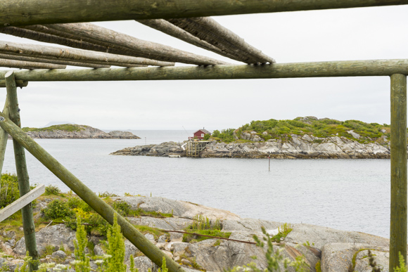 Secaderos de pescado de Henningsvaer