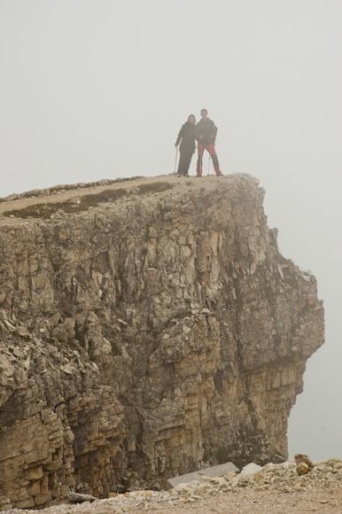 En la cima Lagazuoi