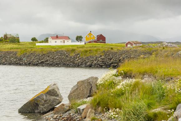 Casas noruegas en Hovsund