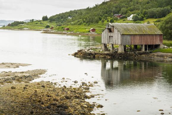 Cabaña de pescadores en Inndyr