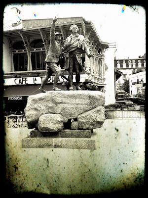 Monumento de Horace-Bénédict de Saussure, Chamonix