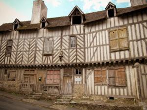 Casas de entramado de madera muy antiguas