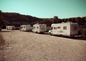 Zona de parking de Cahors