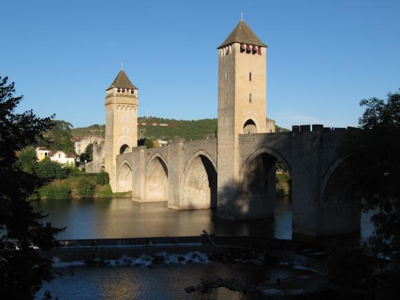 Puente antiguo de Cahors