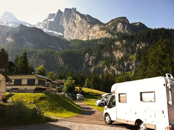 Vistas desde el Camping Rendex-vous