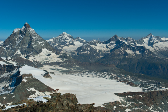 El Matterhorn desde el Klein Matterhorn