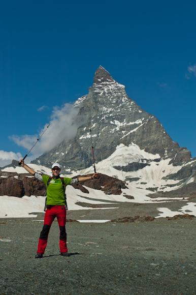 Matterhorn desde su falda
