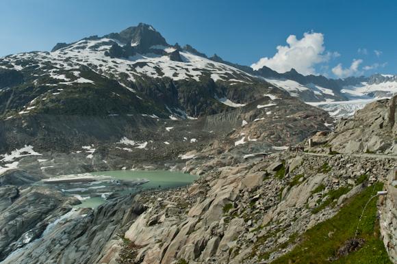 Glaciar Rhonegletscher