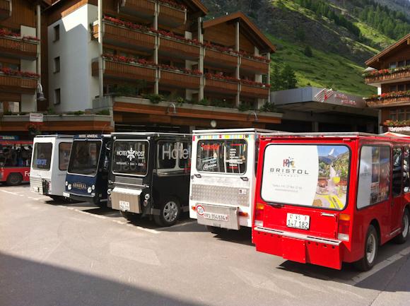 Vehículos eléctricos de Zermatt