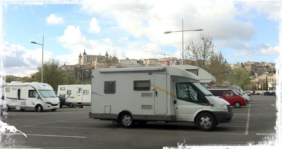 Área de autocaravanas de Toledo (Parking de Safón)