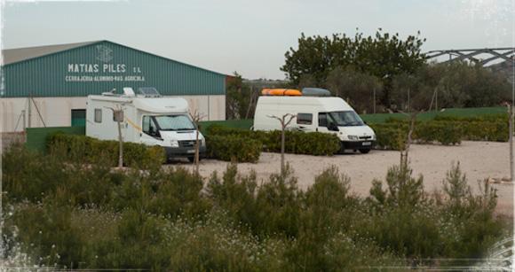 Área de autocaravanas de Turís (Valencia)
