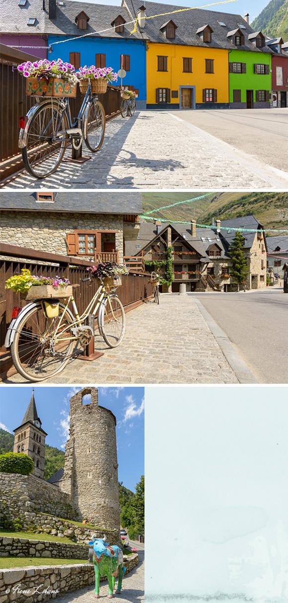 Calles e iglesia de Artíes