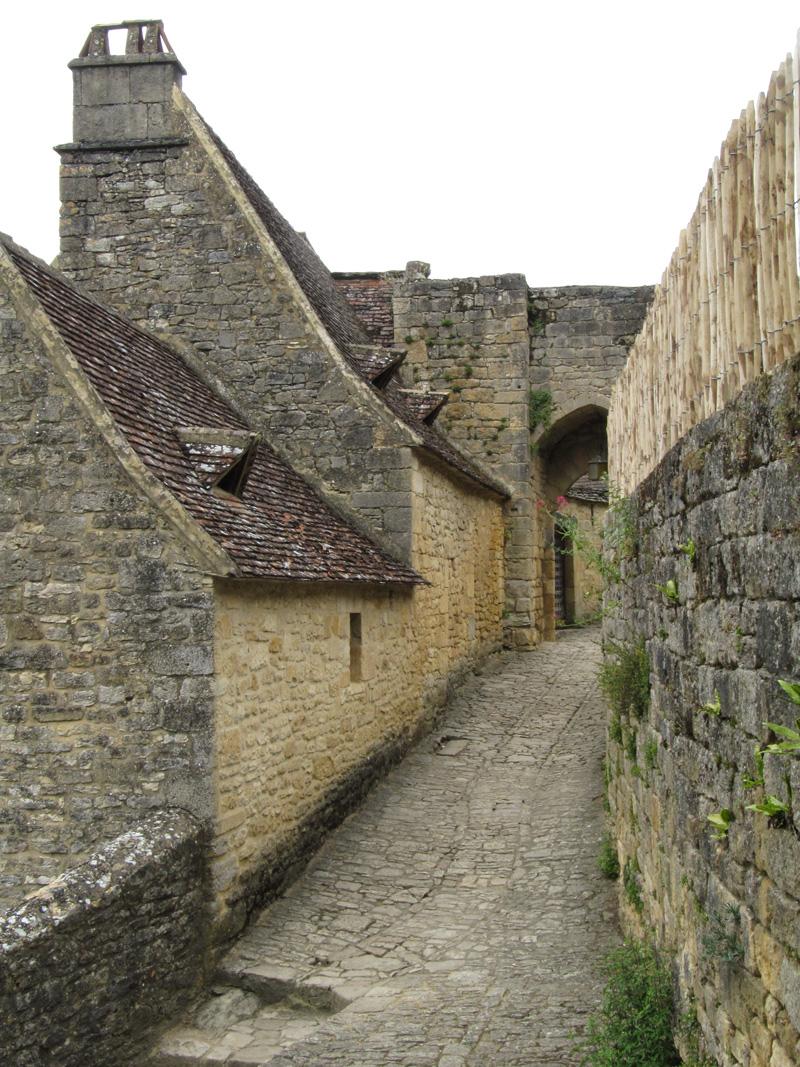 Subida al castillo de Beynac
