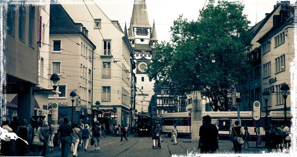 Calle principal de Friburgo