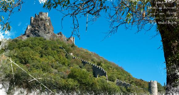 Ruinas del castillo de Rochemaure