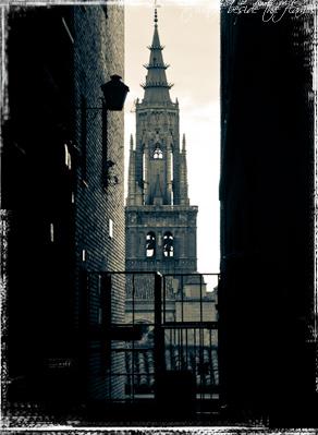 Vista de la Catedral de Toledo
