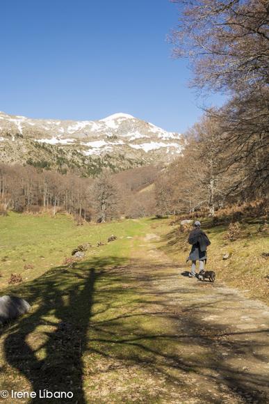 Sendero de Gamueta en el Valle de Linza