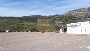 Parking Alto Campoo, Cantabria