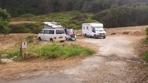Parking Playa de la Concha, O Porto de Bares