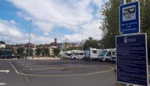 Área de autocaravanas de Betanzos, Galicia