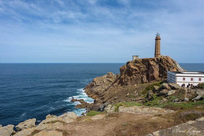 Faro del Cabo Vilano en autocaravana, Galicia