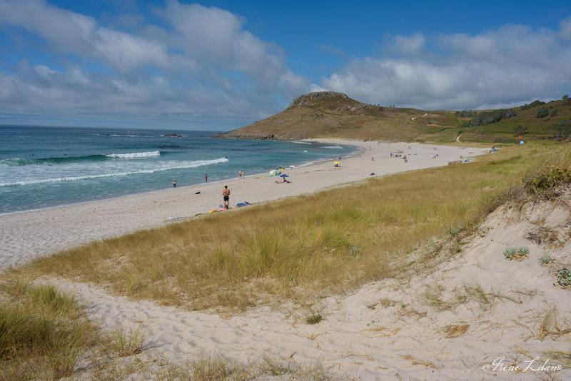 Playa de Soesto en autocaravana, Galicia